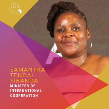 Meet Samantha Tendai Sibanda, Minister of International Cooperation
