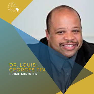 Meet Louis-Georges Tin, Prime Minister
