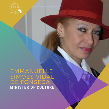Meet Emmanuelle Vidal Simoës de Fonseca, Ministre of culture, arts & crafts