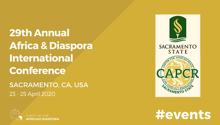 29th Annual Africa & Diaspora International Conference