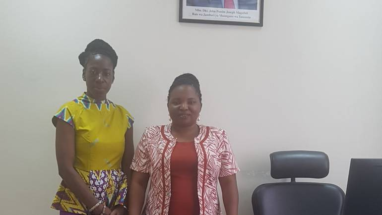 VICE PRIME MINISTER – MS. KETURAH AMOAKO OF THE STATE OF THE AFRICAN DIASPORA – MEETING IN TANZANIA