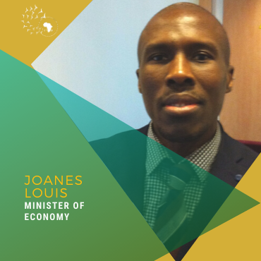 Meet Joanes Louis, Minister of Economy