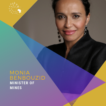 Meet Monia Benbouzid, Minister of Mines of the SOAD