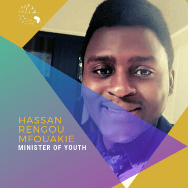 Meet Hassan Rengou Mfouakie, Minister of Youth