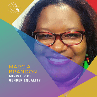 Meet Marcia Brandon, Minister of Gender Equality