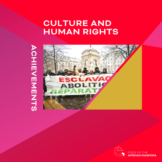Achievement: Culture and human rights