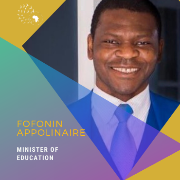 Meet Fofonin Appolinaire, Minister of Education