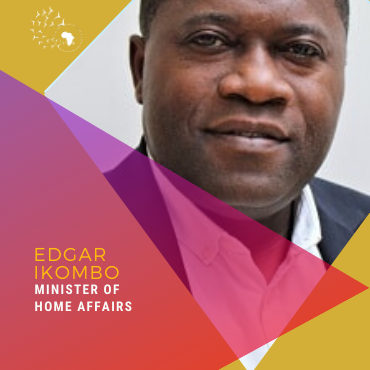 Meet Edgar Ikombo, Minister of Home Affairs