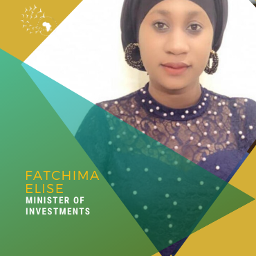 Meet Fatchima Elise Hassane Paraiso, Minister of Investments