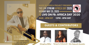 State of The African Diaspora forms an alliance Africa Day 2020
